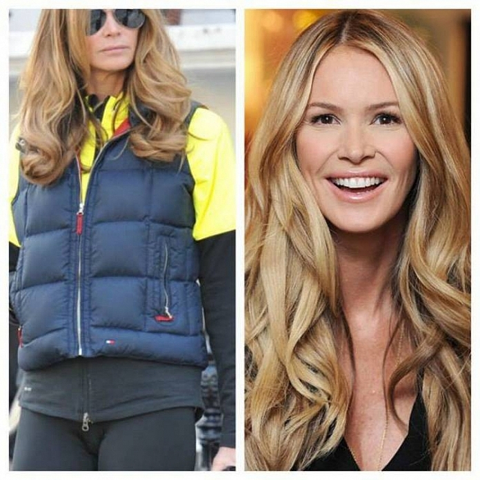 Elle Macpherson - Celebrities Who Took Yoga Pants A Bit Too Far