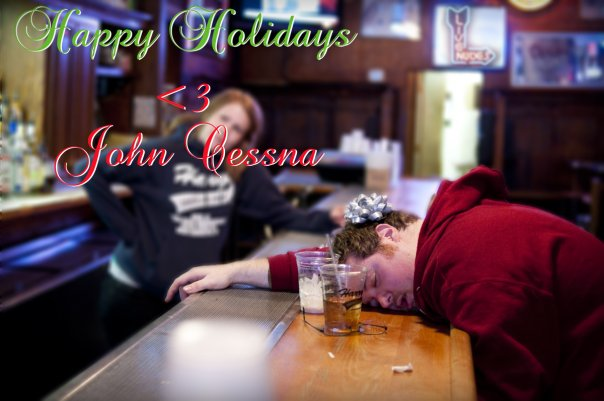 Mom Asked Son To Sober Up And He Trolls Her With Hilarious Xmas Cards