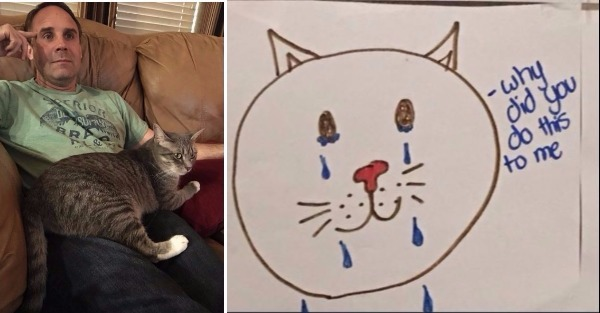 Girl Comes Up Genius Plan To Guilt Dad Into Getting Her Cat