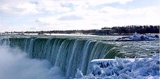 Niagara Falls Transformed Into Amazing Winter Wonderland