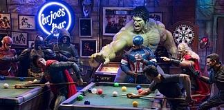 Secret Life Of Superheroes Portrayed Using Action Figures