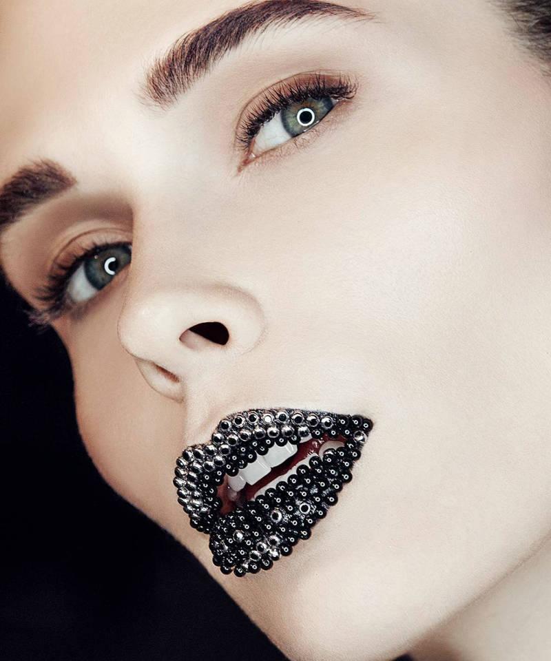 caviar lips beauty trend