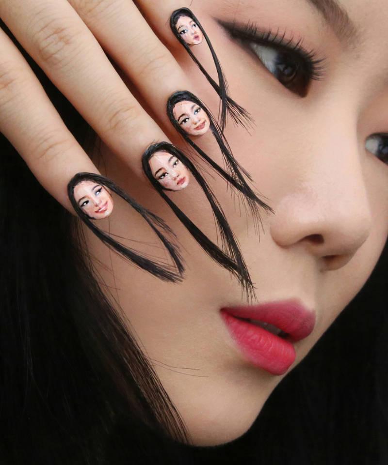 hairy nails beauty trend