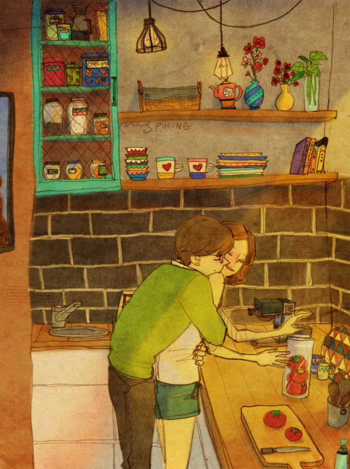 Illustrations Show Love Is Indeed Found In The Smaller Things