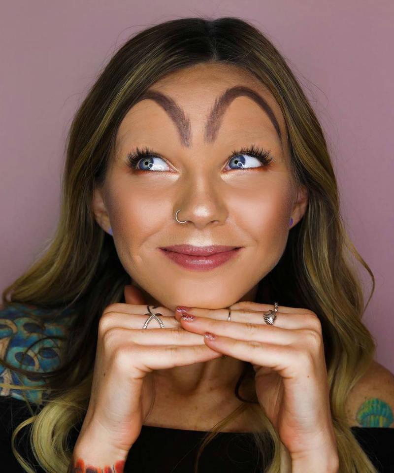 mcdonalds eyebrow beauty trend