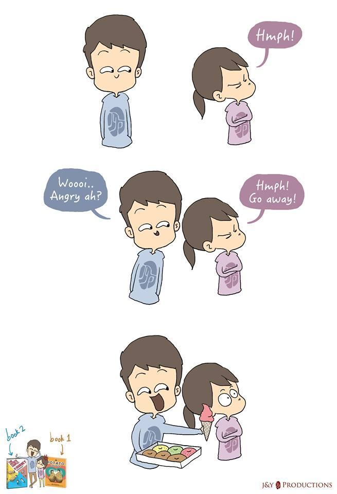 Life Of A Couple Described Precisely In These Cute Comics
