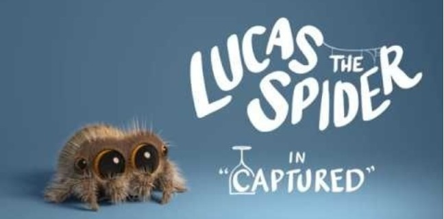 Lucas The Spider Gets Captured And Attempts To Escape In New Video