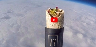 Watch Video Of Kebab Getting Launched Into Space