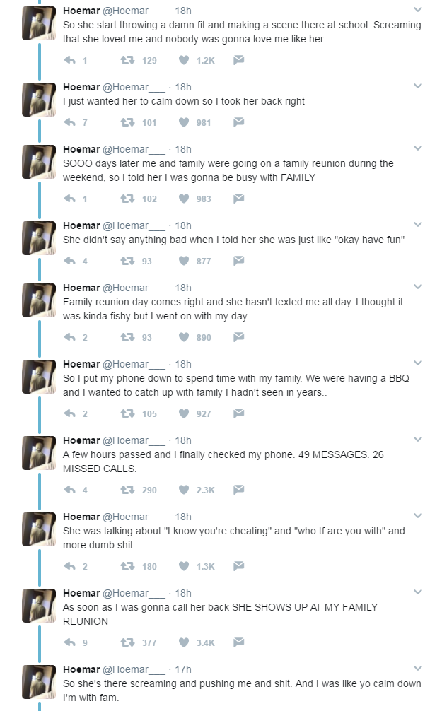Man Shares Insane Dating Story About His Psycho Ex-Girlfriend