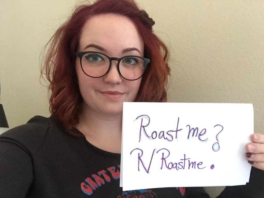 Roast my wife! She's 24 and is an artist and stay at home mom.