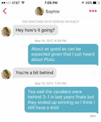 Tinder Troll Posts Hilarious Conversations He's Had So Far With Women