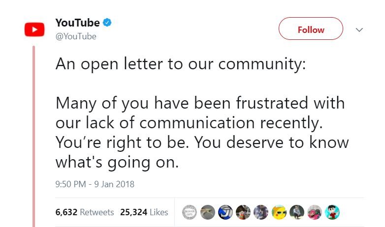 YouTube Tweets Open Letter In Response To Logan Paul's Controversial Video