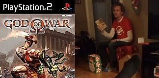 Brother's Epic Reaction To Receiving God Of Wars For PS2 Instead Of PS4 Goes Viral
