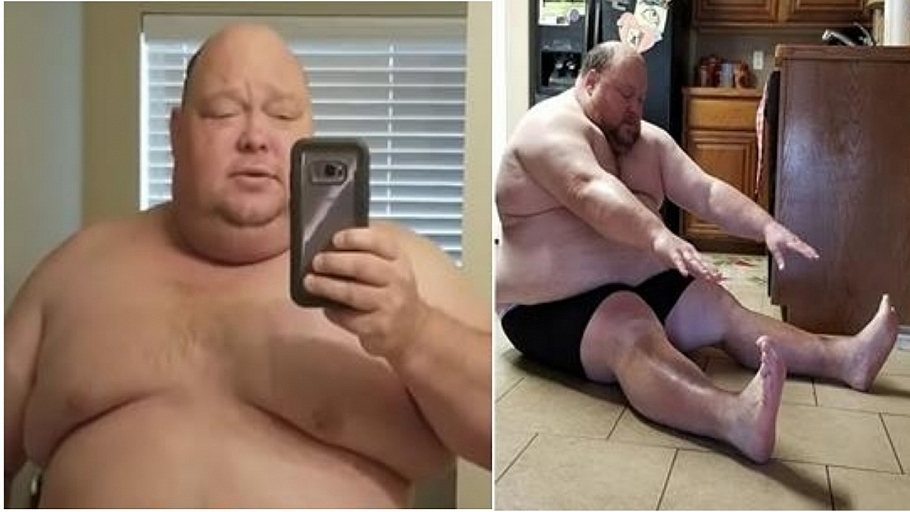 Man's Incredible 198Lbs Weight Loss In 365 Days Is All The Motivation We Need