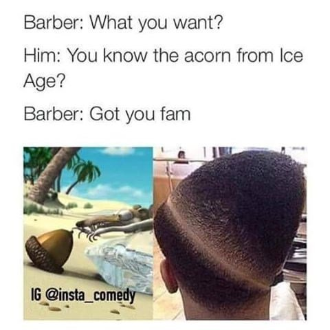 These 20 Barber Shop Memes Will Help Ease Your Bad Day At The Barbers