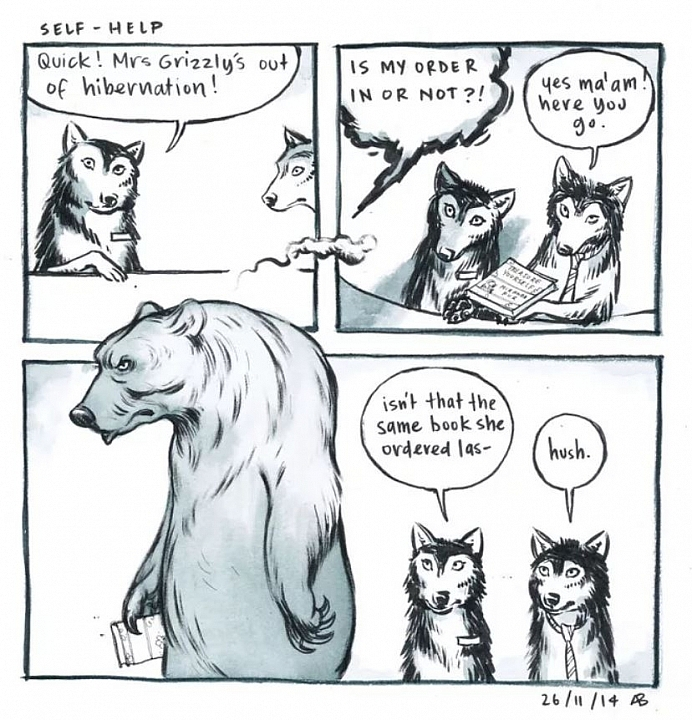 12 Retail Customer Service Experience Illustrated In Wolf Comics Is Definitely Relatable