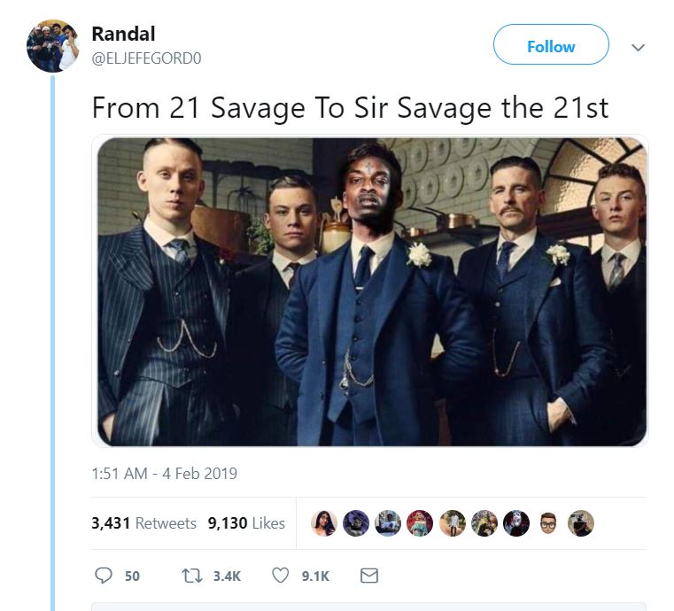 15 hilarious yet savage 21 savage memes that truly confirm his britishness viralmash