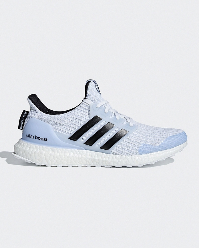 """White Walker"" adidas Ultra Boost trainers"