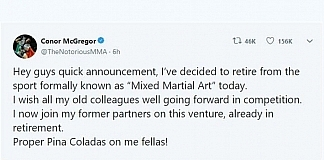 Conor McGregor Announces His Retirement Again Leaving Many People Confused