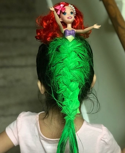 littlemermaidcrazyhairday