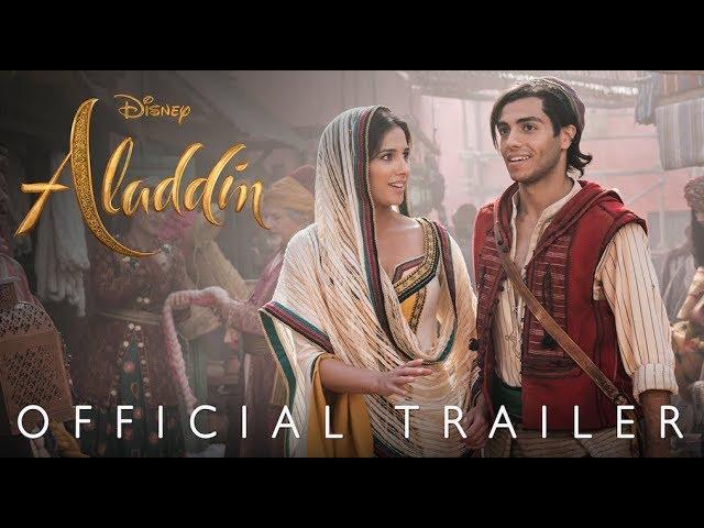 Disney's Aladdin Trailer Showcases Will Smith As Genie In It's Full Glory
