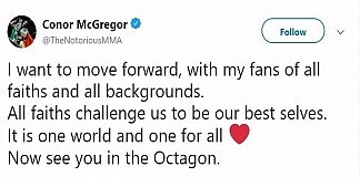 Conor McGregor Posts Cryptic Message Following His Racist Tweet Backlash