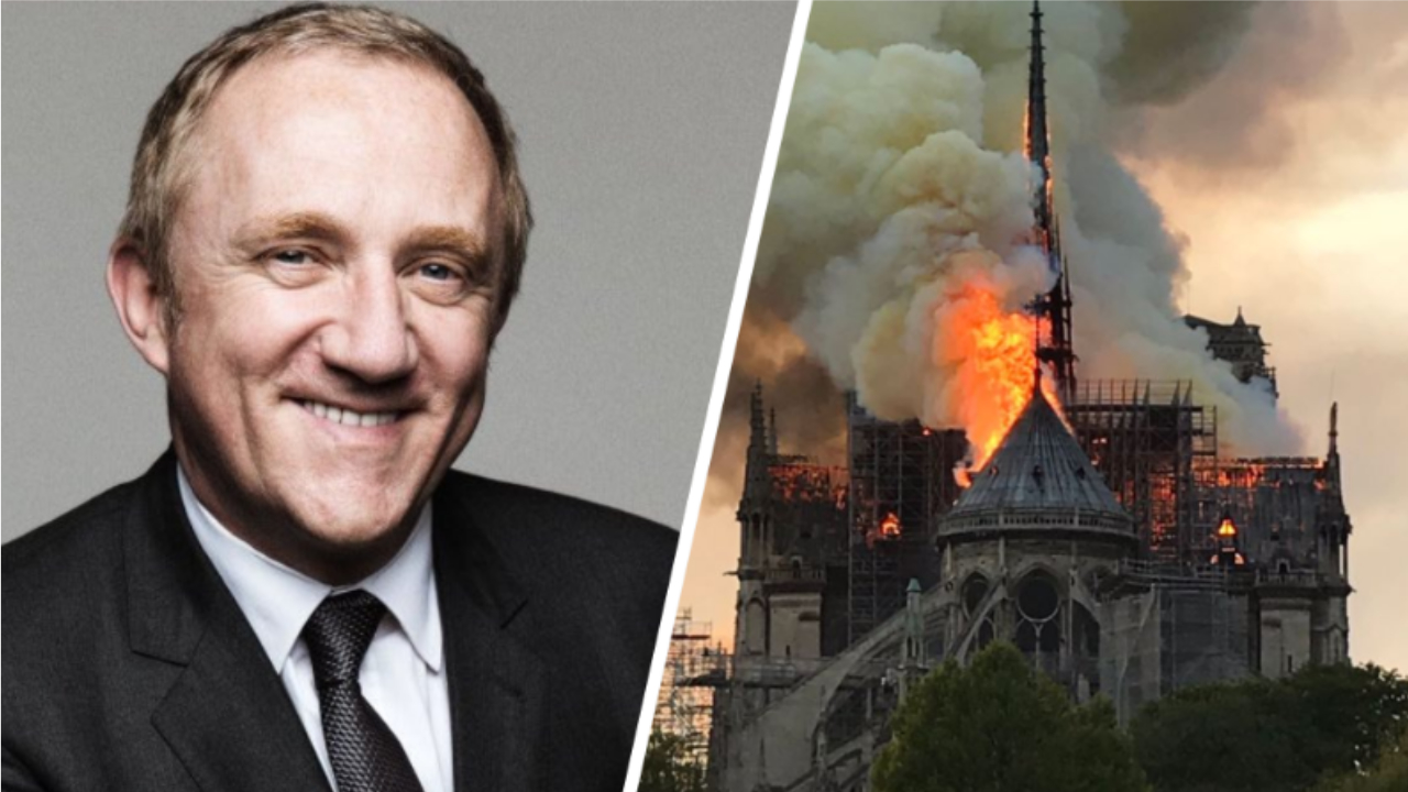 French Billionaire Pledges €100 Million Towards Rebuilding Notre Dame