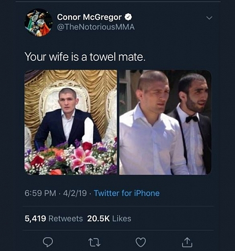 conormcgregorracisttweet