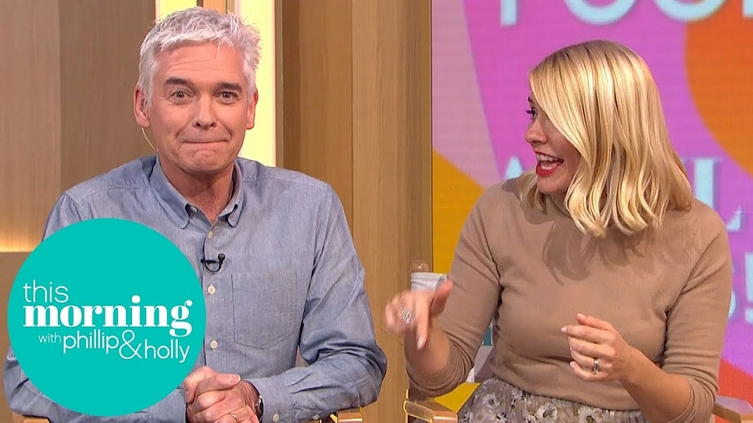 Phillip Schofield Pulls The Perfect April Fools Prank On Co-Host Holly Willoughby